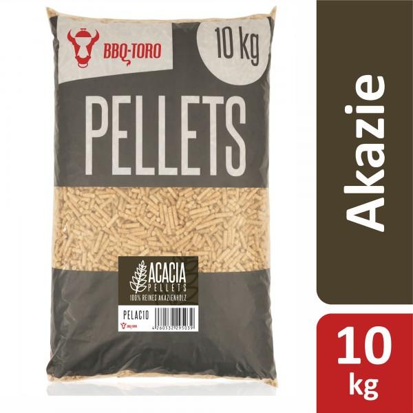 BBQ-Toro 10 kg Acacia Pellets aus 100% Akazienholz | Akazienpellets