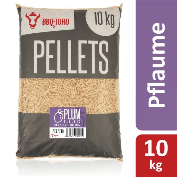 BBQ-Toro 10 kg Plum Pellets aus 100% Pflaumenholz | Pflaumenpellets