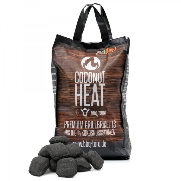 BBQ-Toro Coconut Heat | 10 kg | Premium Grillbriketts aus 100 % Kokosnuss