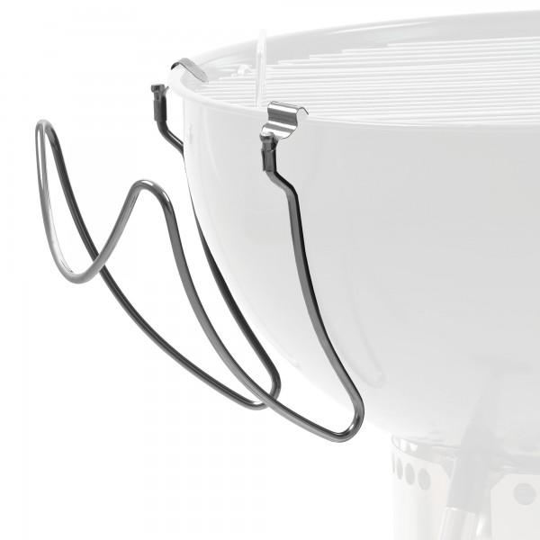 BBQ-Toro Edelstahl Universal Deckelhalter für Kugelgrill   Grill Deckelhalter