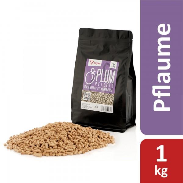 BBQ-Toro 1 kg Plum Pellets aus 100% Pflaumenholz | Pflaumenpellets