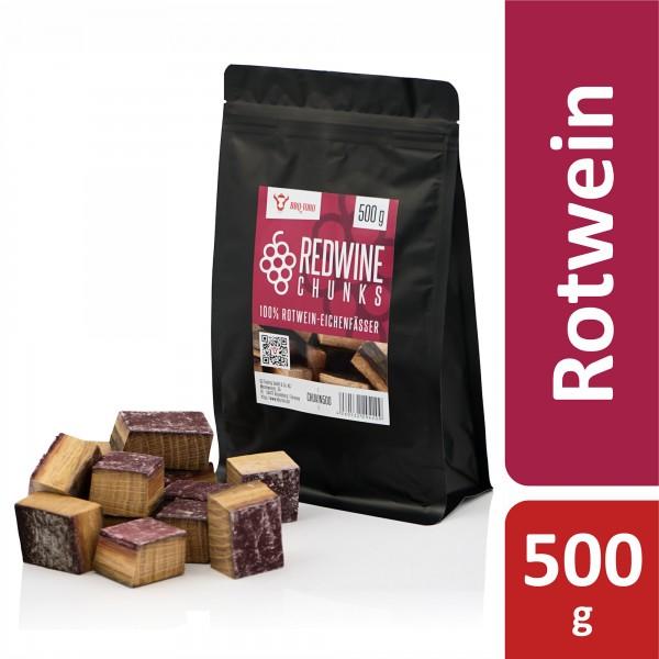 BBQ-Toro Redwine Chunks | 500 g | aus 100% Rotwein-Eichenfässer