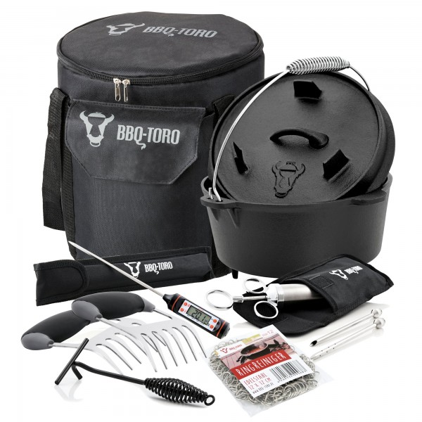 BBQ-Toro 7-teiliges Dutch Oven Set