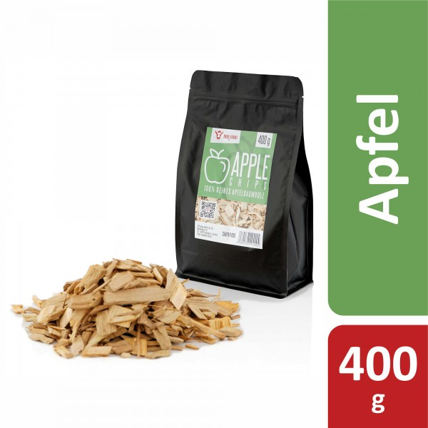 BBQ-Toro Apple Smoker Chips (400 g) Räucherchips Apfelholz Smokerchips