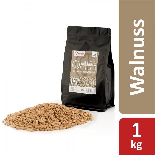 BBQ-Toro 1 kg Walnut Blend Pellets aus 100% Holz | Walnusspellets