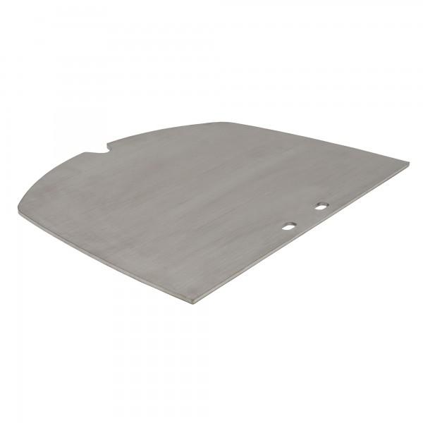 BBQ-TORO Edelstahl Grillplatte passend für Weber Q3000 Serie