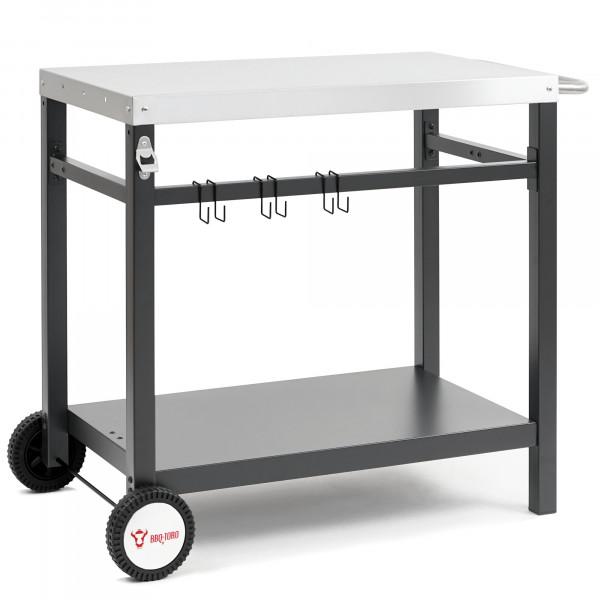 BBQ-Toro Grillwagen 85x50x81 cm   Beistelltisch Rollwagen zum Grillen