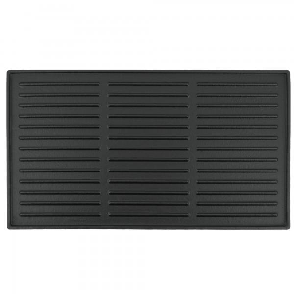BBQ-Toro Gusseisen Grillplatte 44 x 24,5 cm | Wendeplatte, emailliert