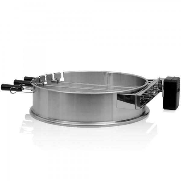 BBQ-Toro Grillspieß Set für Ø 57 cm Kugelgrill | 7 Edelstahl Spieße