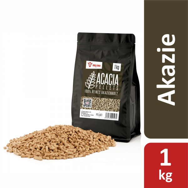 BBQ-Toro 1 kg Acacia Pellets aus 100% Akazienholz | Akazienpellets