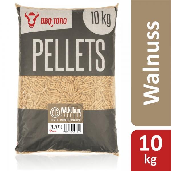 BBQ-Toro 10 kg Walnut Blend Pellets aus 100% Holz | Walnusspellets