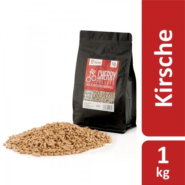 BBQ-Toro 1 kg Cherry Pellets aus 100% Kirschbaumholz | Kirschpellets