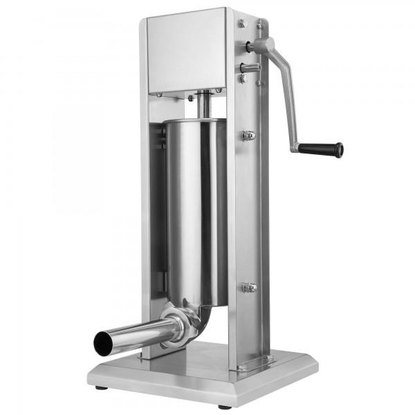 ZELSIUS Profi Wurstfüllmaschine, 5 Liter, Edelstahl Wurstfüller