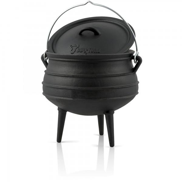 BBQ-Toro Potjie #3, für 8 - 14 Personen, 8 Liter, Gusseisen Kochtopf